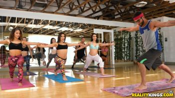Group Sex in Yoga Class