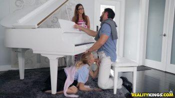 Sneaky Piano Slut