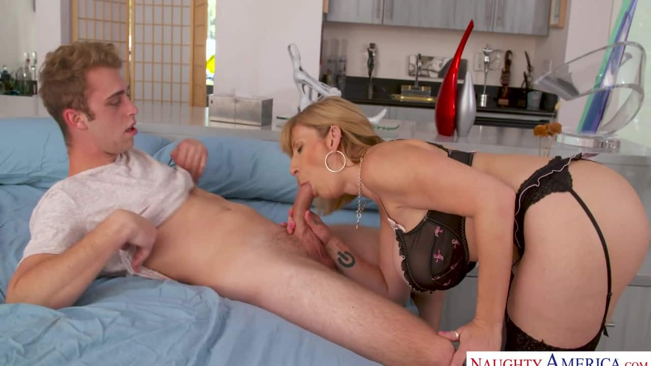Asian Step Mom Fucks Son