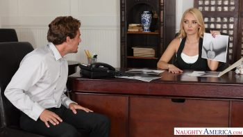 HR Mgr Aaliyah Love Investigates Penisgate With Her Pussy