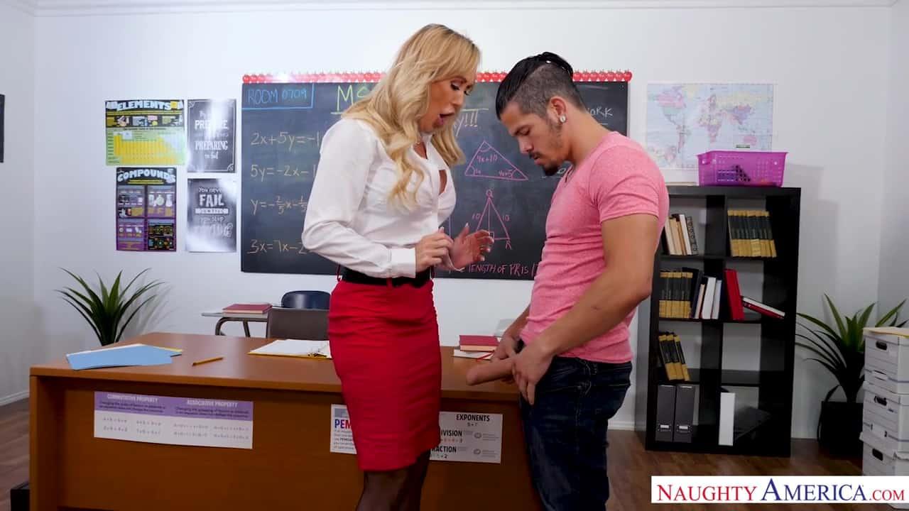 School Teacher Big Tits