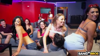 Taking Over A Hookah Lounge With Pornstars
