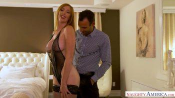 Lauren Phillips Milks A Big Cock