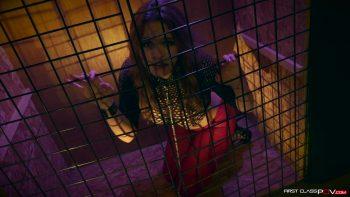 Krissy Lynn Gets Caged