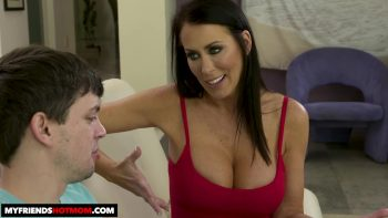 Reagan Foxx Shows Her Son's Friend How To Take Care Of a Woman