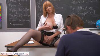 Prof Sara Jay Gives Student Her Big Ass