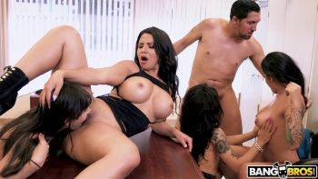 Huge Office Orgy