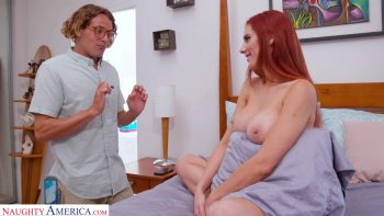 Lilian Stone gets her big tits fucked