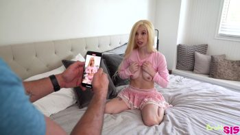 Tick Tock My Step Sister Sucked My Cock