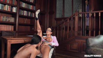 Library Lesbians Caught