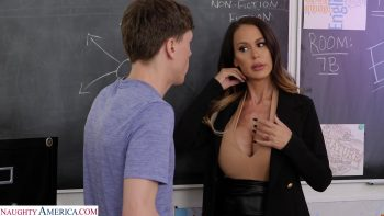 McKenzie Lee fucks her student so he can focus better in class