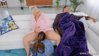Smothered And Fucked At The Sleepover