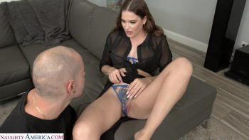 Kendra Heart twists her ankle and the only way to relieve the pain is a good hard orgasm